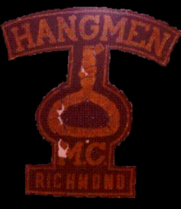 Hangmen MC Patch Old Original