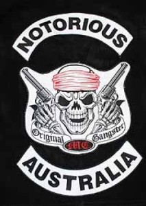 Notorious MC Patch Logo