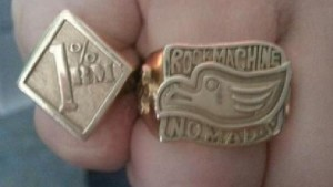 Rock Machine MC Eagle Ring