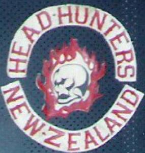 Head Hunters MC Patch Old