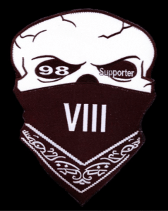 Iron Horsemen MC Support Club Brothers 8 VIII Patch Logo