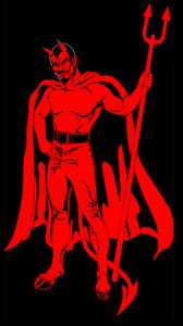 Original Red Devils MC Patch Logo