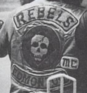 Rebels MC Patch Logo Canada