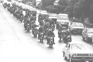 Road Knights MC Damned MC Funeral 1