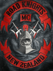 Road Knights MC Patch Logo New Zealand