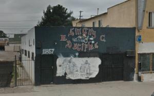Sin City Deciples MC Clubhouse Los Angeles California