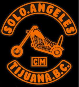 Solo Angeles de Motocicletas Patch Logo Solo Angels MC