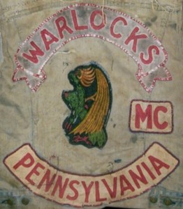 Warlocks MC Patch Logo Pennsylvania