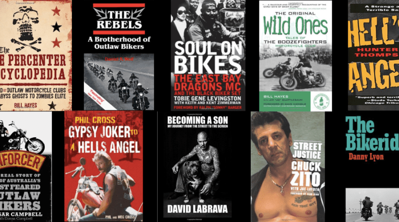 Outlaw Motorcycle Club books - 1000x500