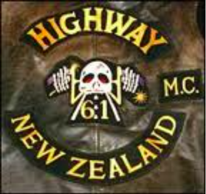 Highway 61 MC patch logo
