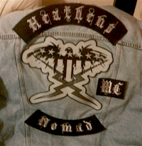 Heathens MC Patch Logo