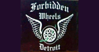 Forbidden Wheels MC patch logo-862x431