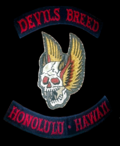 Devils Breed MC Patch Logo