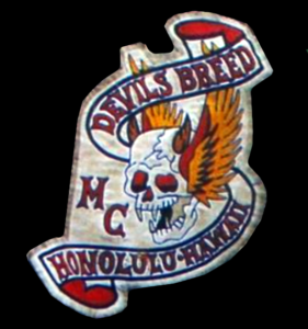 Devils Breed MC patch logo old