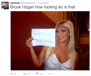 Laffing Devils MC Sandman Brook Hogan Twitter