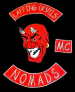 Laffing Devils MC patch logo