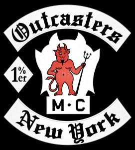 Outcasters MC patch logo