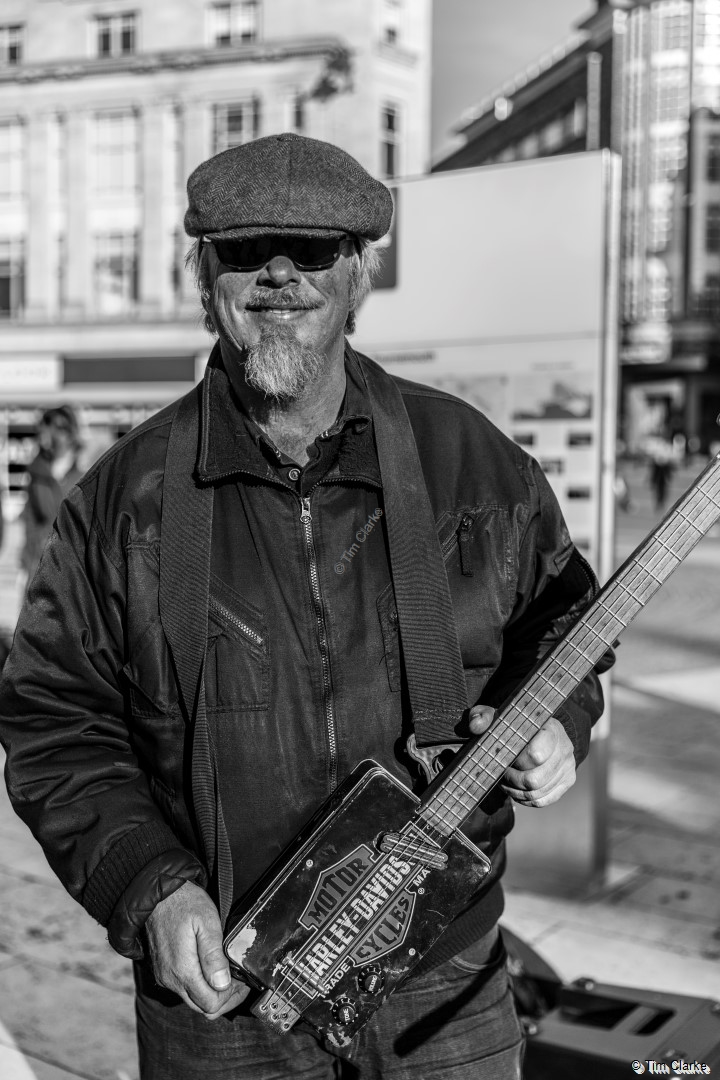 Rob Berry Blues Busker
