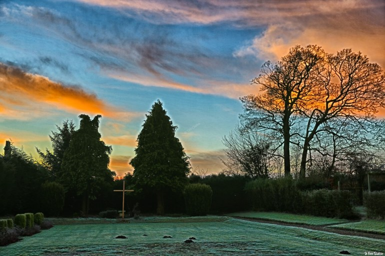 Staffordshire Sunrise, Shallowford House.