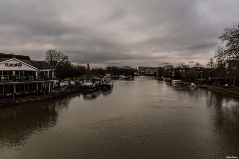 River Thames at Reading.
