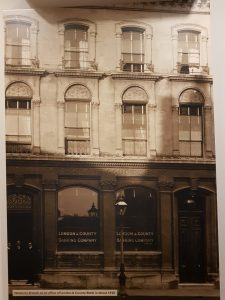 NatWest Bank Newbury: As the London and Country Bank in 1910.