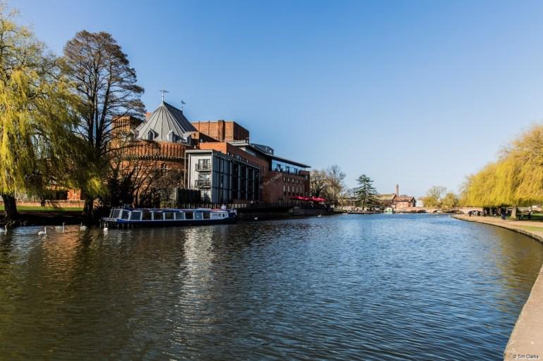 River Avon, Stratford: The Royal Shakespeare Theatre