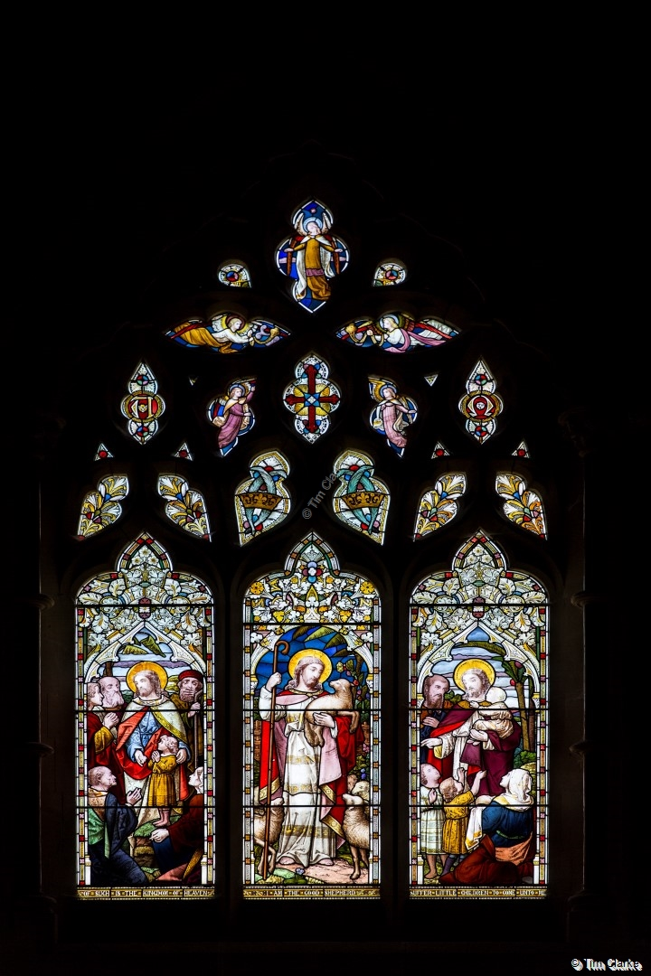 East Window, St Peter's Church, Brimpton.