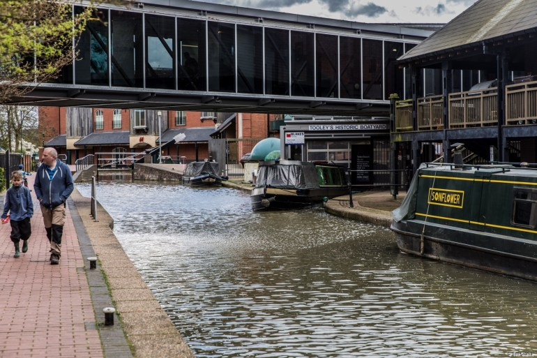 Tooley's Boatyard: The Canalside Scheduled Ancient Monument.