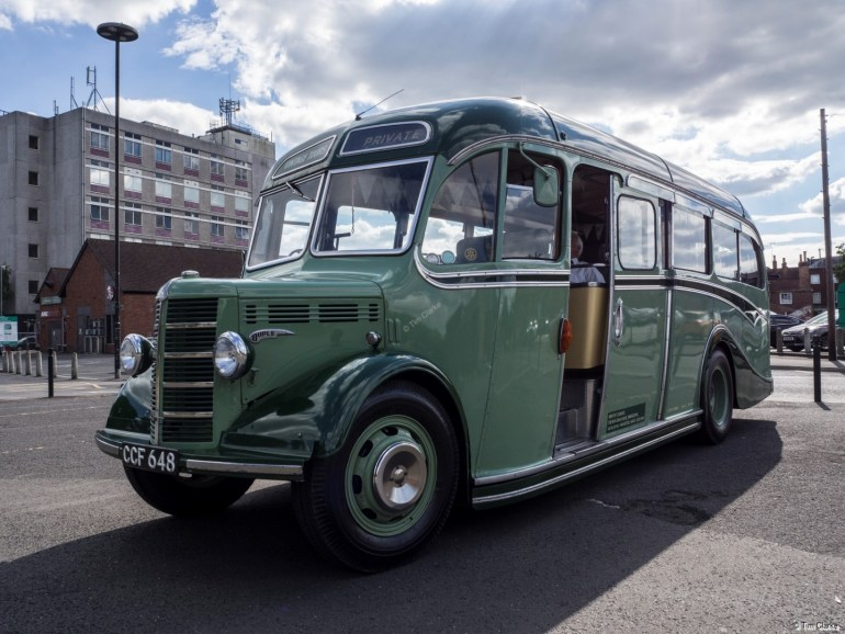 CCF 648: Beautifully Restored Historic Coach.