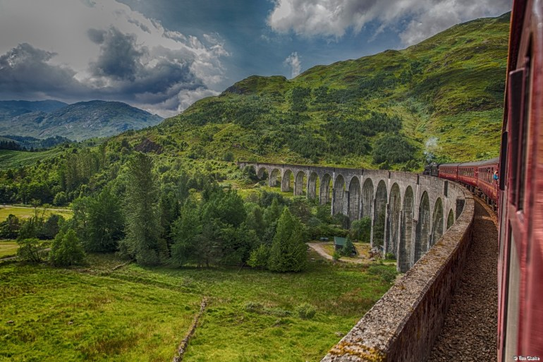 Glenfinnan Viaduct: Famous Viaduct on a Famous Line!