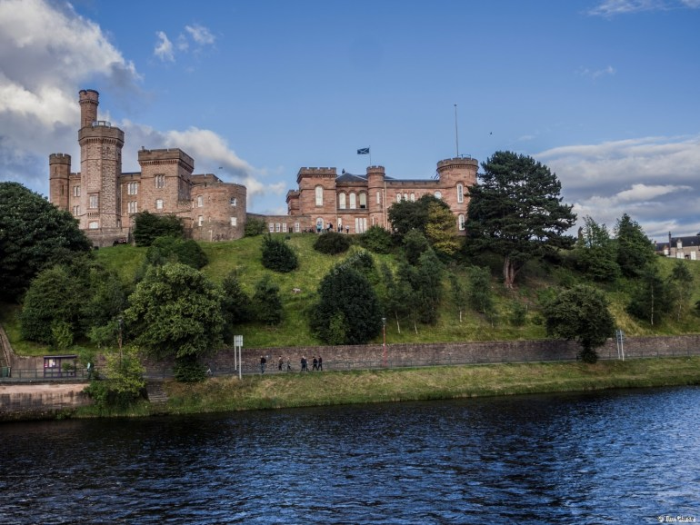 Inverness Castle: Prominent Landmark in the centre of town.