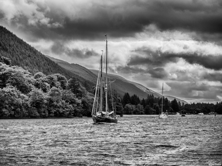 Loch Oich: Timeless image.