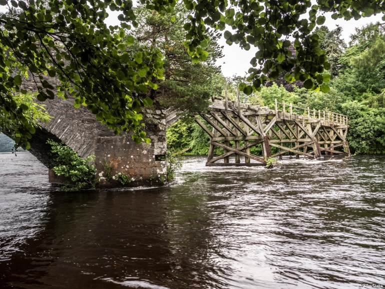 Old Oich Bridge: Listed Structure at Risk.