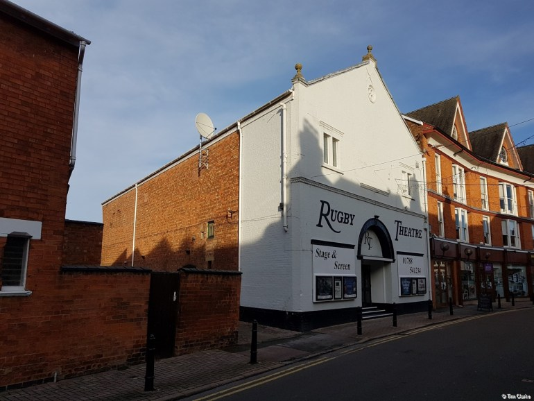 Rugby Theatre: Last remaining traditional cinema still operating in the town.