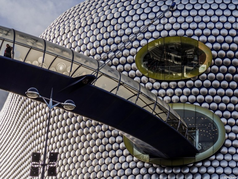 Selfridges, Bullring, Birmingham. Distinctive and unusual design.