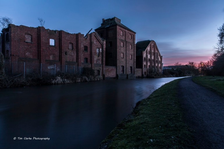 Langley Maltings, Titford Canal, Oldbury