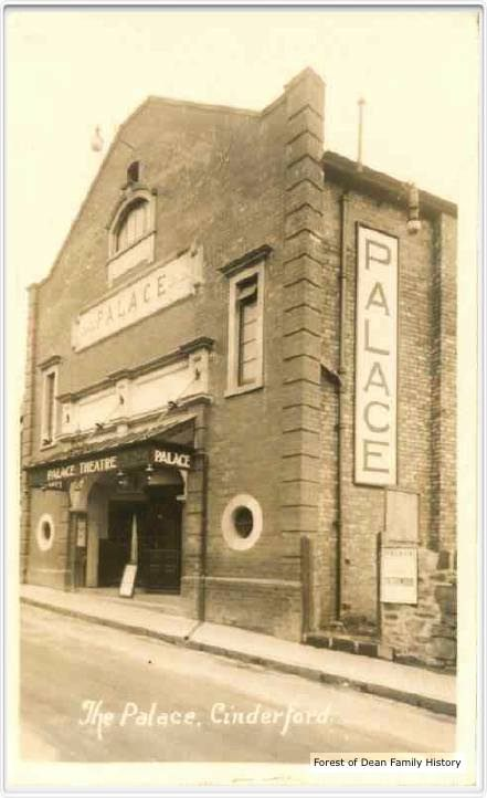 The Palace Cinema, Cinderford, with original entrance foyer.