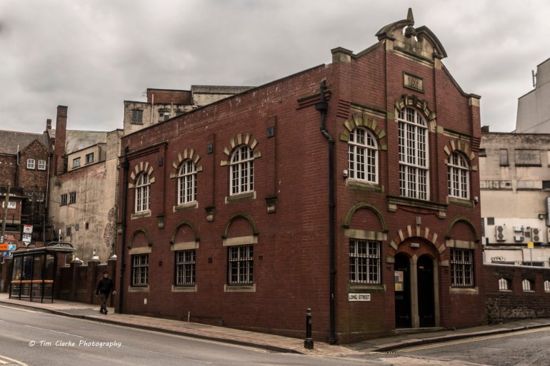 Former Fryer Street Synagogue, Wolverhampton.