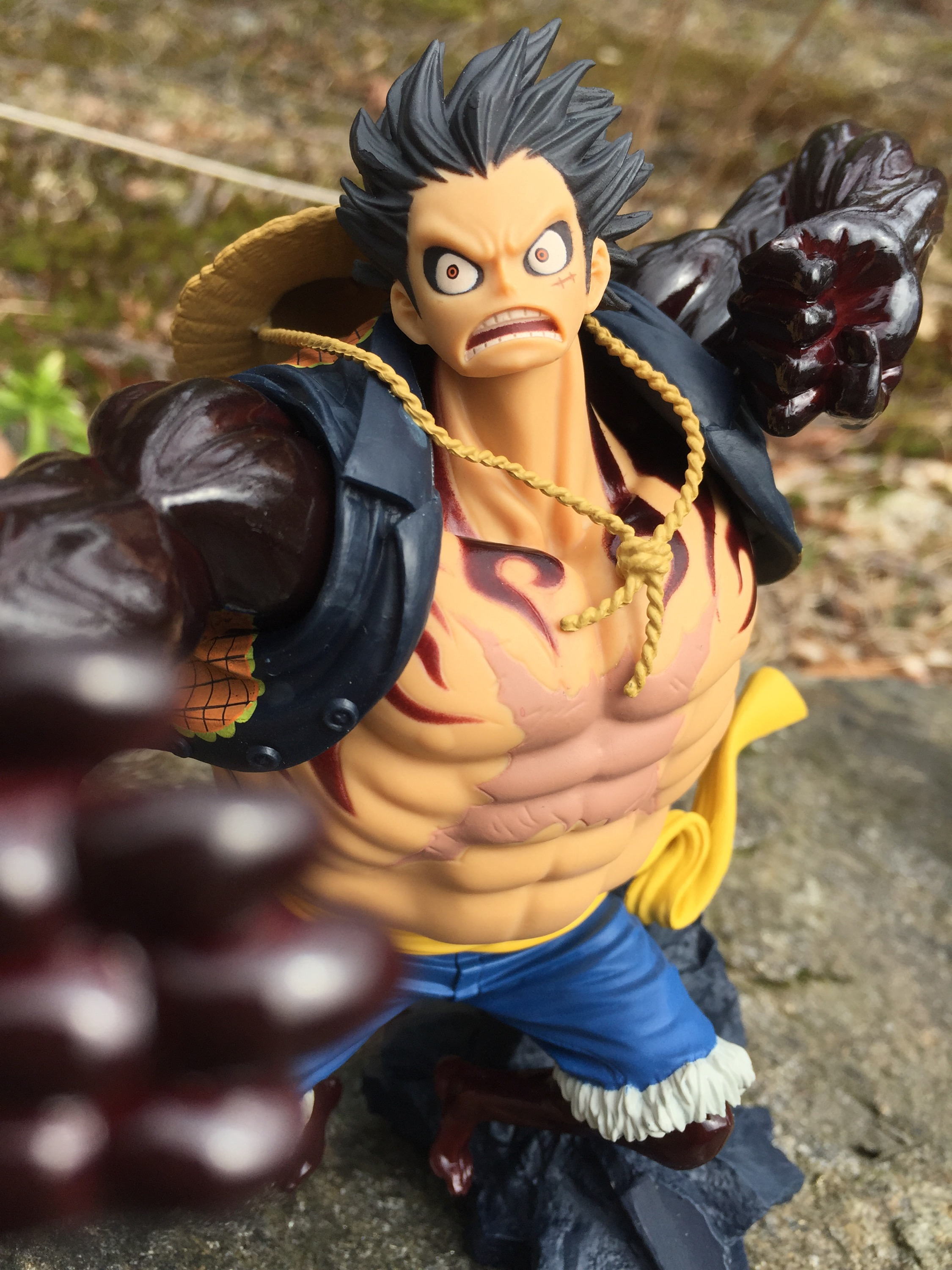 Anime one piece luffy gear 4th chalice exclusive *may 2021 preorder* · sale · regular price $44.99. One Piece SCultures Fourth Gear Luffy Figure Review! - One ...