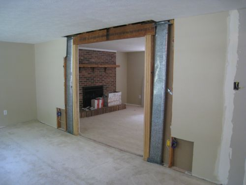 How To Remove A Load Bearing Wall One Project Closer