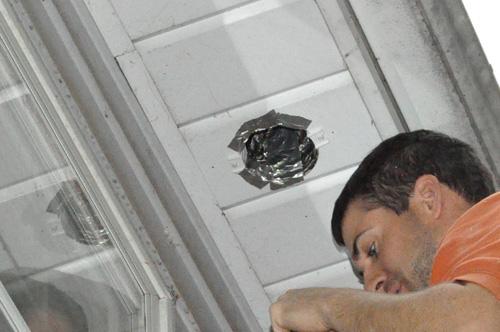 how to install a retrofit bathroom vent fan