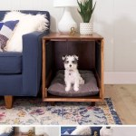 How To Build A Dog Crate That Doubles As An End Table Picture Tutorial