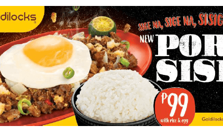 Goldilocks Pork Sisig
