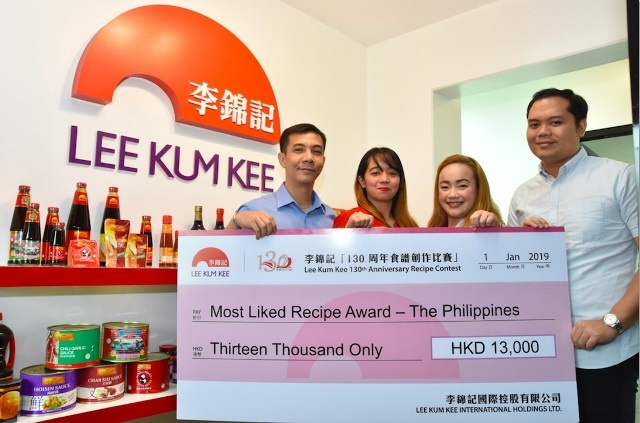 Lee Kum Kee Philippines 130th Anniversary Winners