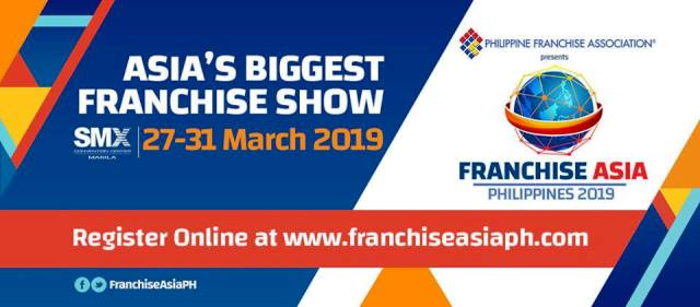 Franchise Asia Philippines 2019 Conference and Expo