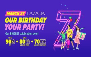 Lazada 7th Birthday Sale
