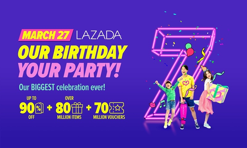 Lazada 7th Birthday Sale