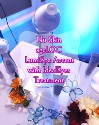 Nu Skin's ageLOC LumiSpa Accent with IdealEyes Treatment