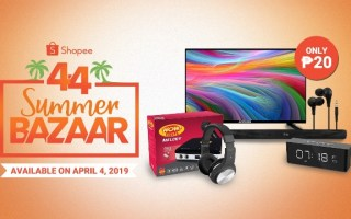 P20 deals on Shopee 4.4 Summer Bazaar