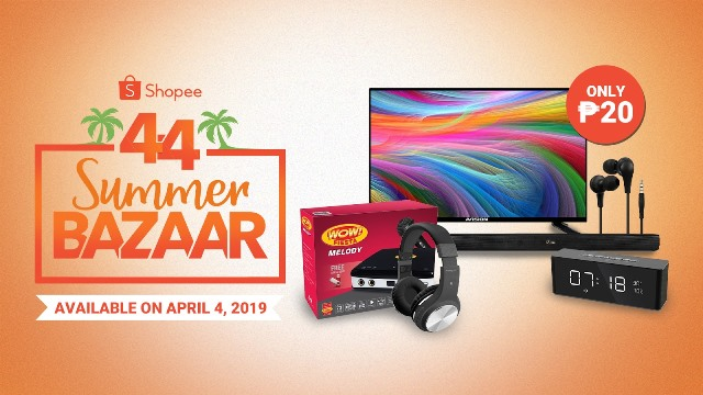 P20 deals on Shopee 4.4 Summer Bazaar